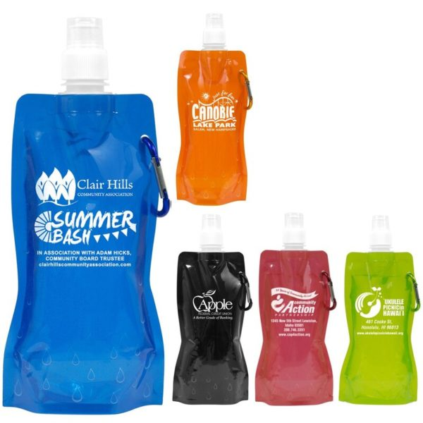 Promotional Collapsible Water Bottle 16536